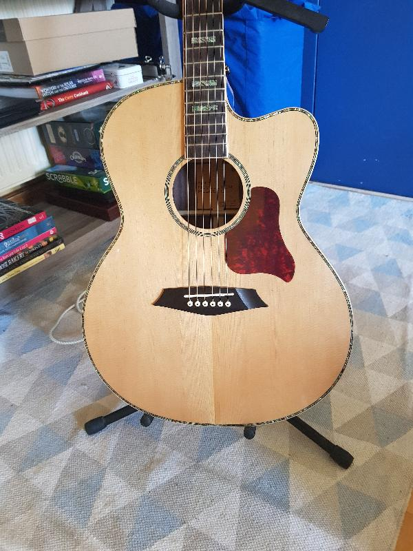 Sire R7 GZ Grand Auditorium Acoustic Guitar with Outboard Preamp -  Andertons Music Co