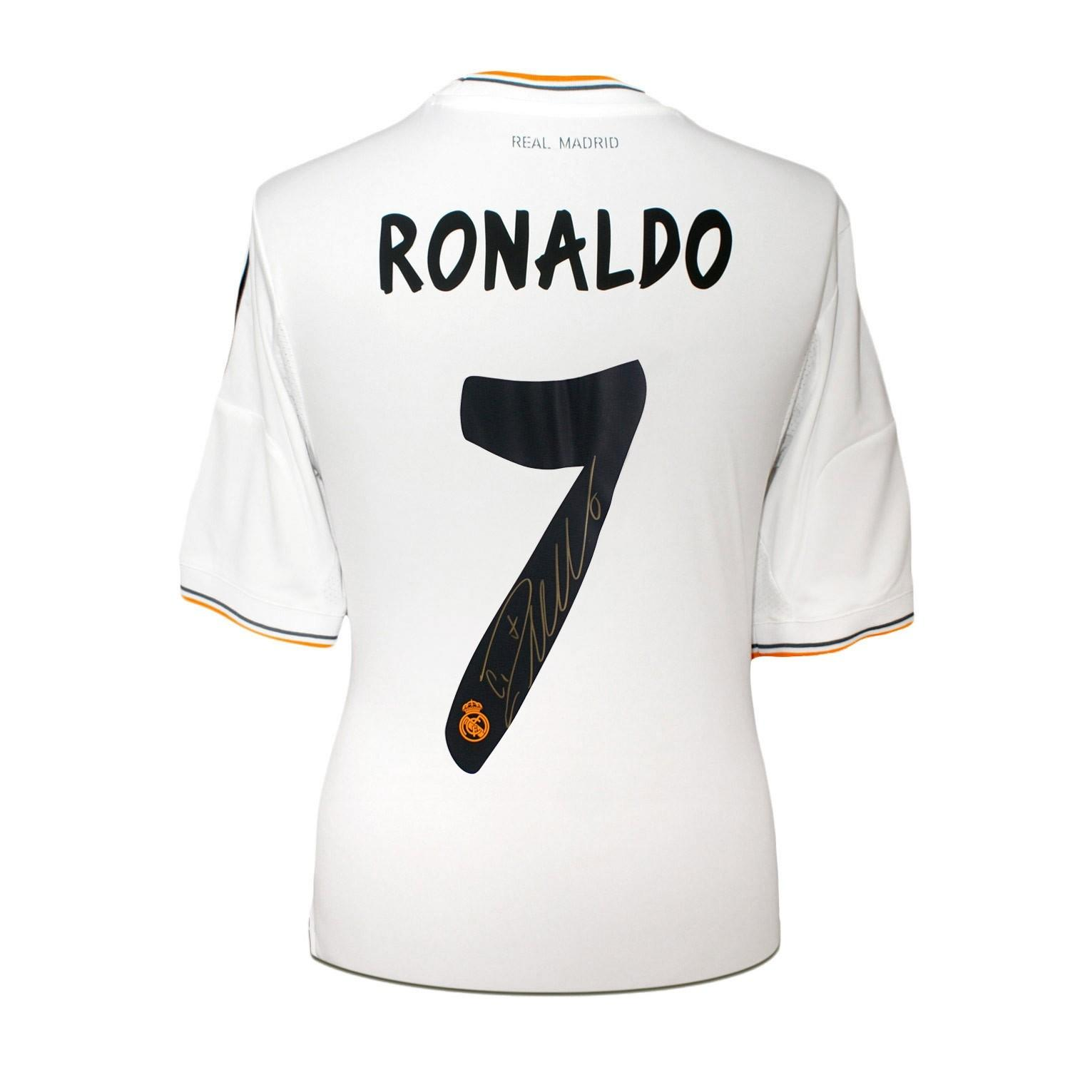 best authentic 7a5e7 f7db8 Cristiano Ronaldo Signed Real Madrid Football Shirt Reviews ...