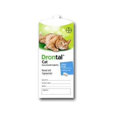 Drontal Cat Wormer Reviews | Pet Drugs Online Reviews | Feefo