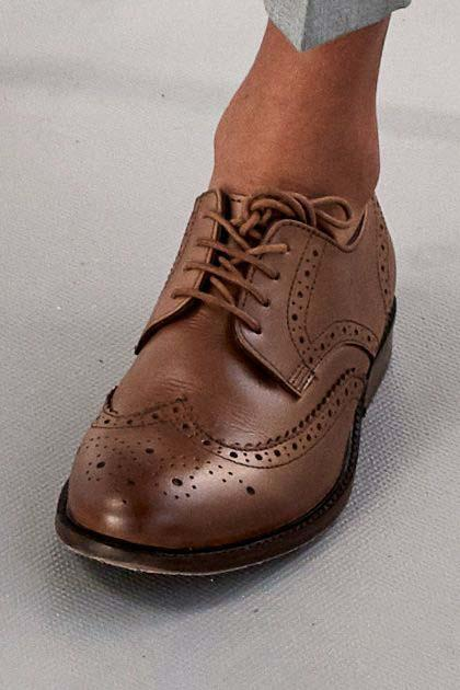 b97872cce Boys Next Tan Leather Brogues (Older) - Brown