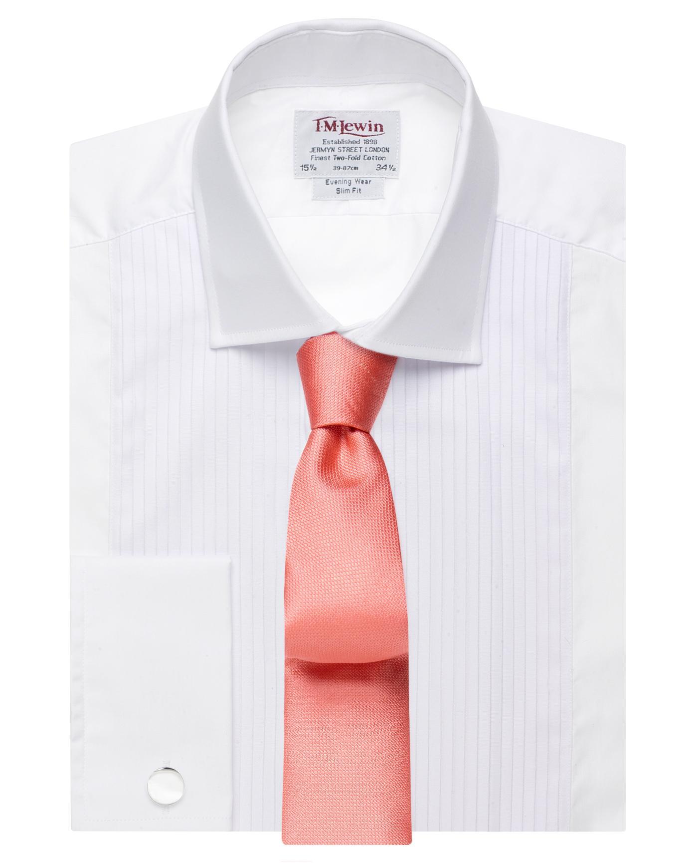 Pleated Slim Fit Evening Dress Shirt Reviews Tm Lewin Reviews Feefo