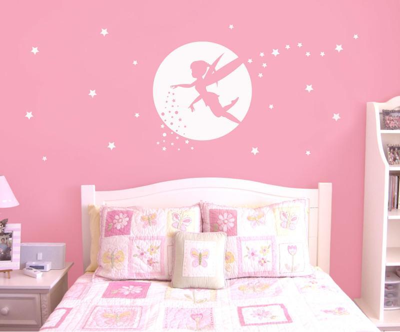 fairy wall sticker silhouette reviews   aspect wall art stickers