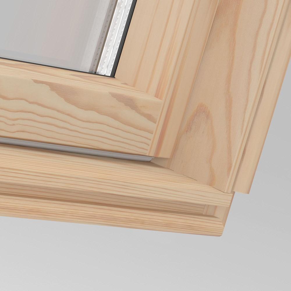 Rooflite Nito Slimline Dvx B500 C4a Vented Pine Centre Pivot Roof Window 55x98cm Reviews Sterlingbuild Ltd Reviews Feefo