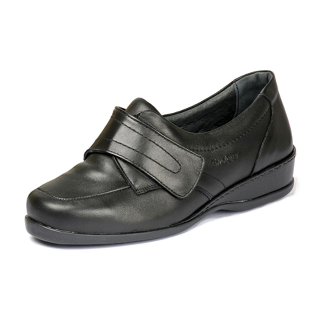1fb55d4fb1f4 Wardale Ladies Extra Wide Shoe 4E-6E - Wide fitting shoe Black - 39   …