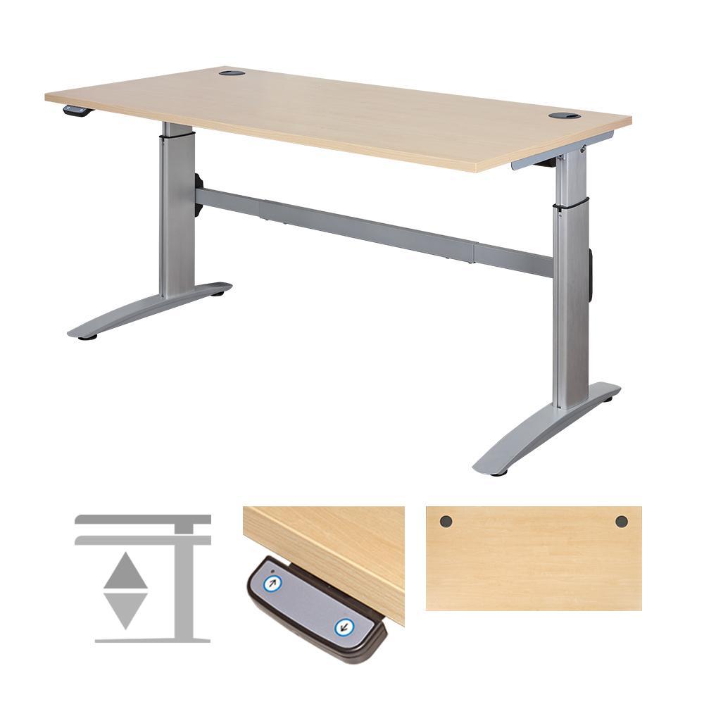 Deskrite 300 Electric Sit Stand Desk Writing