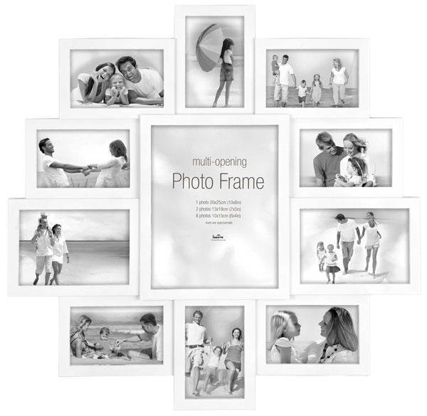 Maggiore XXI Multi Photo Frame - White Reviews | Red Candy Ltd ...