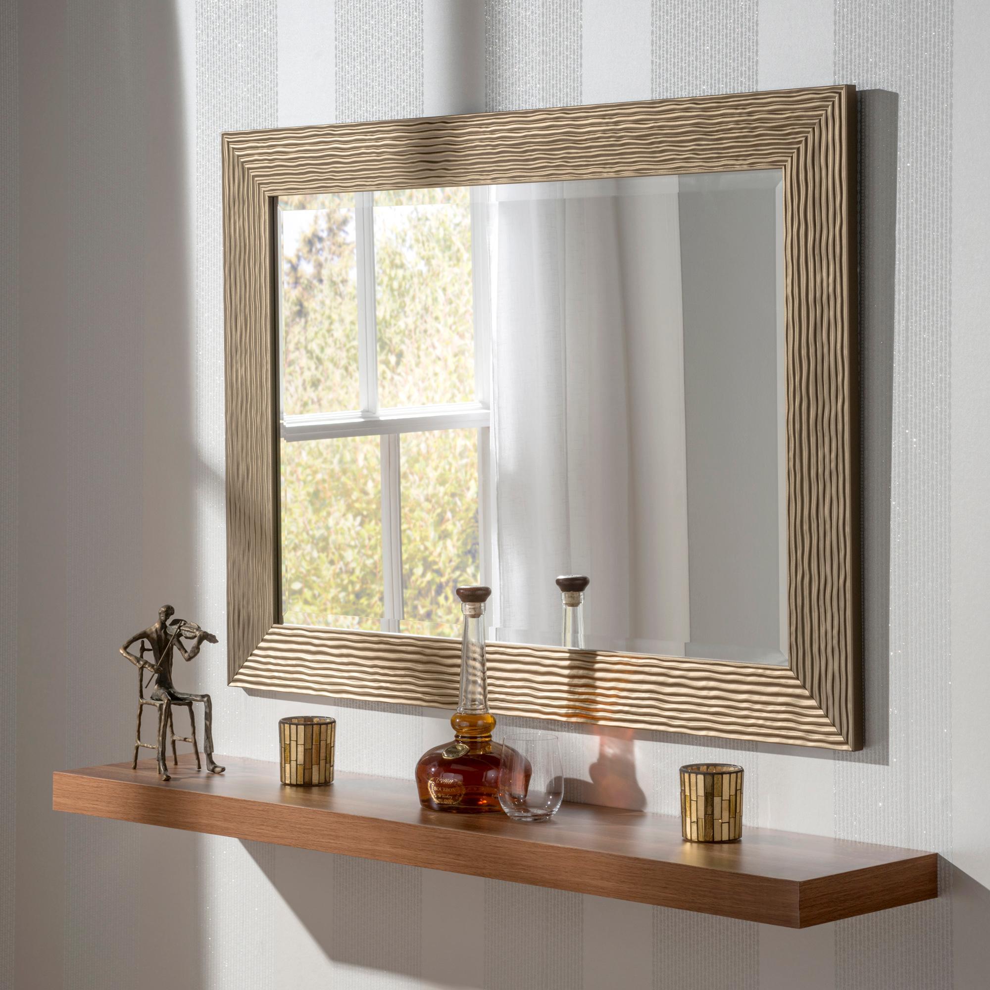 Arden Bronze Rectangular Mirror Reviews Decorative Mirrors