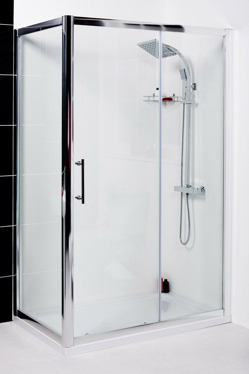 Aquariss 1000 X 900mm Sliding Door Shower Enclosure With Easy Clean