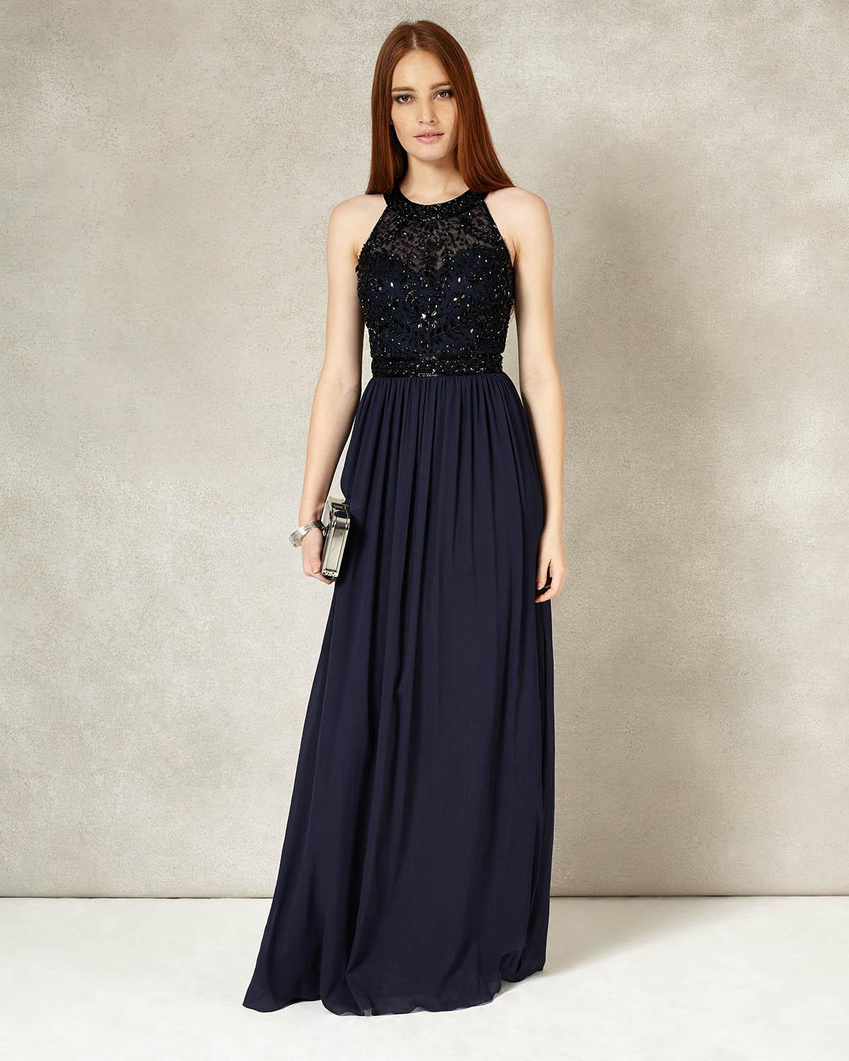 Elwyn Embellished Maxi Dress Reviews | Phase Eight Online Reviews ...
