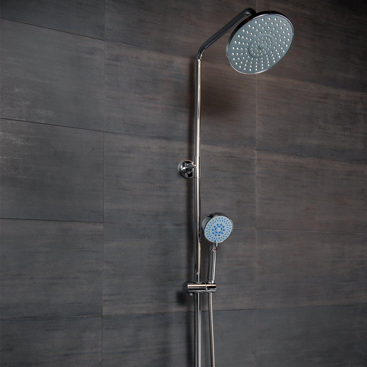 W@sh Thermostatic Twin Head Shower Mixer Reviews | Bathroom Takeaway ...