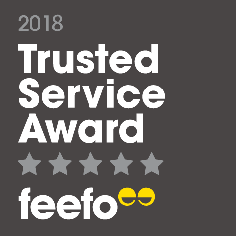 Cubadirect Feefo Trusted Service Award