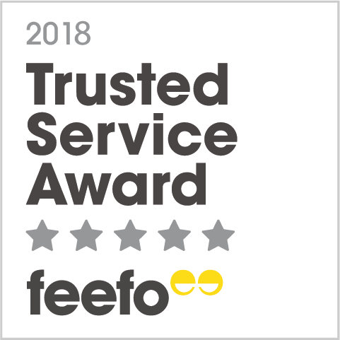 2018 trusted service award